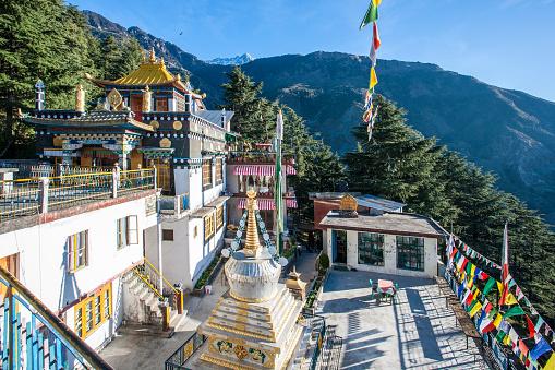 Himachal Pradesh「Zilnon Kagyeling Nyingma Monastery, McLeod Ganj, India.」:スマホ壁紙(6)