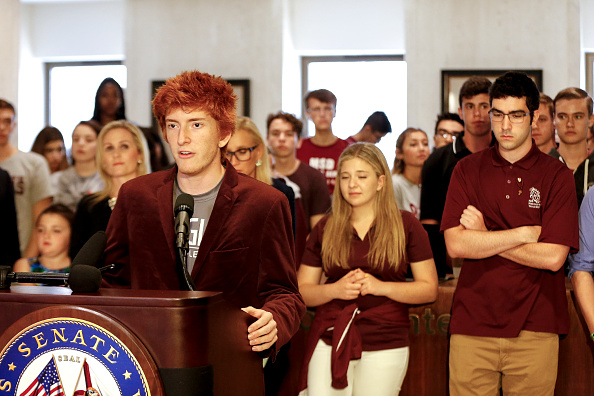 Tallahassee「Parkland Students, Activists, Rally At Florida State Capitol For Gun Control」:写真・画像(19)[壁紙.com]