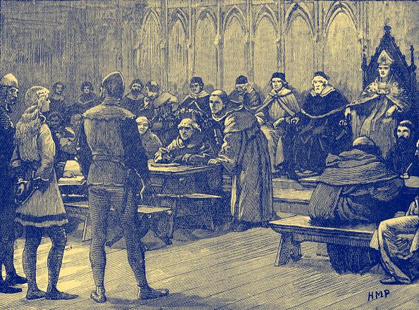 Circa 15th Century「Joan of Arc 's trial」:写真・画像(3)[壁紙.com]