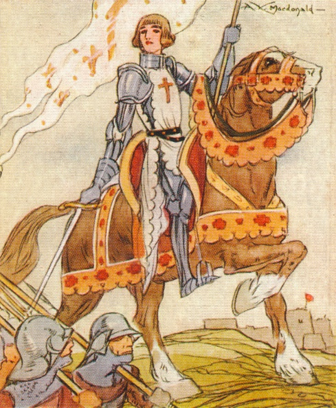 Females「Joan of Arc, (c1412-1431) 15th century French patriot and martyr, 1937. Artist: Alexander K MacDonald」:写真・画像(6)[壁紙.com]