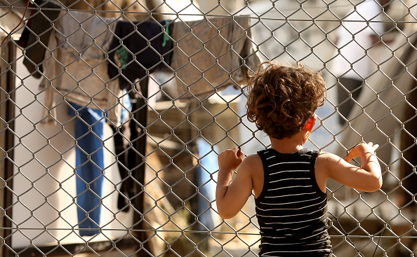 Displaced Persons Camp「Refugees Remain Stranded On Lesbos」:写真・画像(0)[壁紙.com]