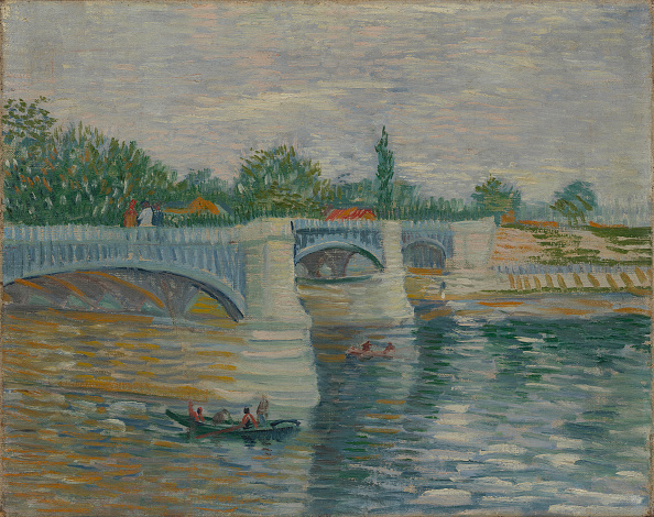 風景(季節別)「The Bridge At Courbevoie 1887」:写真・画像(15)[壁紙.com]