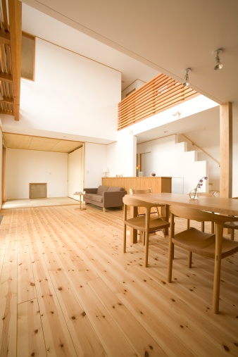 Dining Table「Living and dining room」:スマホ壁紙(3)