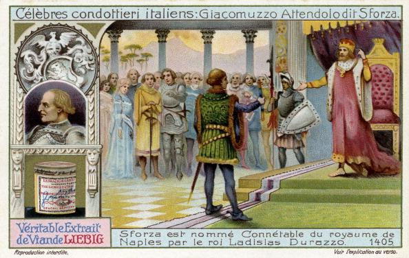 Circa 15th Century「Famous Italian Condottieri: Muzio Sforza」:写真・画像(8)[壁紙.com]