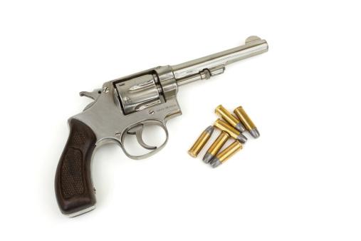 Handgun「Handgun and Bullets」:スマホ壁紙(8)