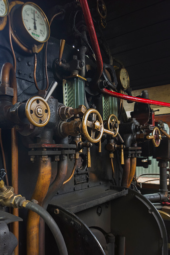 SL「Steam engine footplate」:スマホ壁紙(2)