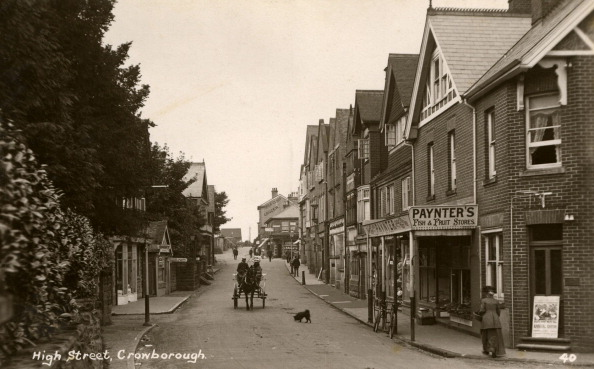 Heritage Images「High Street, Crowborough」:写真・画像(0)[壁紙.com]