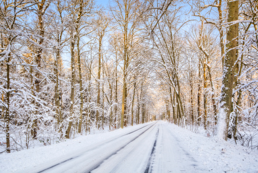 Snowdrift「Frozen Road」:スマホ壁紙(2)