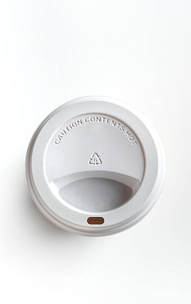 Overhead view of coffee cup:スマホ壁紙(壁紙.com)