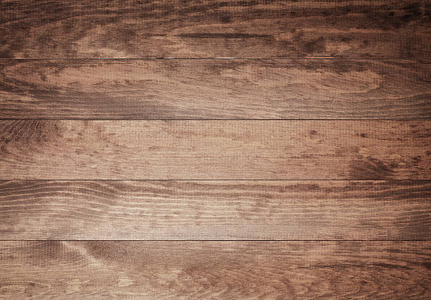 Overhead view of old dark brown wooden table:スマホ壁紙(壁紙.com)