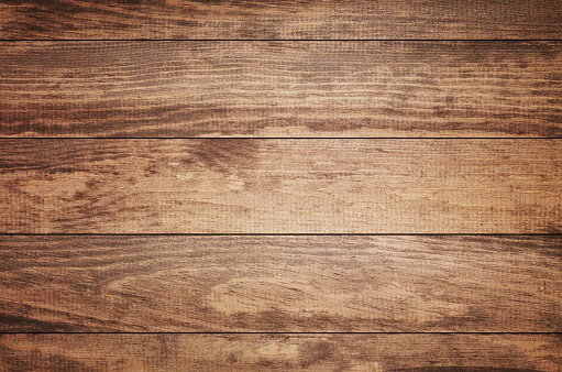 Nature「Overhead view of old dark brown wooden table」:スマホ壁紙(1)