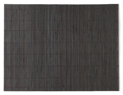 Bamboo - Plant「Overhead view of dark stained bamboo mat」:スマホ壁紙(4)