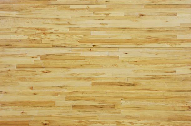 Overhead View of a Wooden Basketball Floor:スマホ壁紙(壁紙.com)