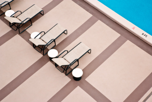 Outdoor Chair「Overhead View of Swimming Pool」:スマホ壁紙(13)