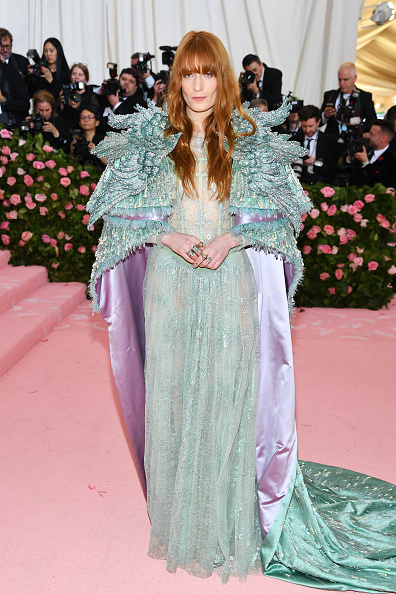 Turquoise Colored「The 2019 Met Gala Celebrating Camp: Notes on Fashion - Arrivals」:写真・画像(13)[壁紙.com]