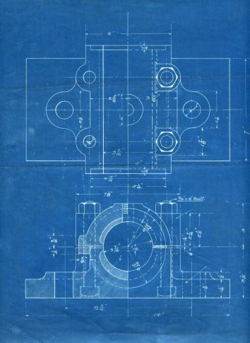 Diagram「machine part blueprint」:スマホ壁紙(16)