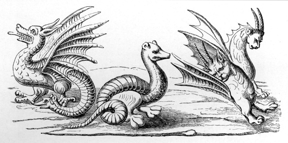 Circa 14th Century「Dragons」:写真・画像(6)[壁紙.com]