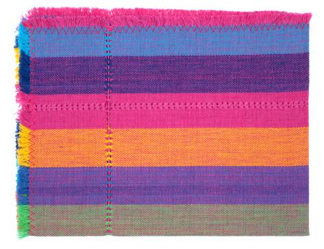 布柄「繊維ディテール、ラテンアメリカのカラーパターン」:スマホ壁紙(16)