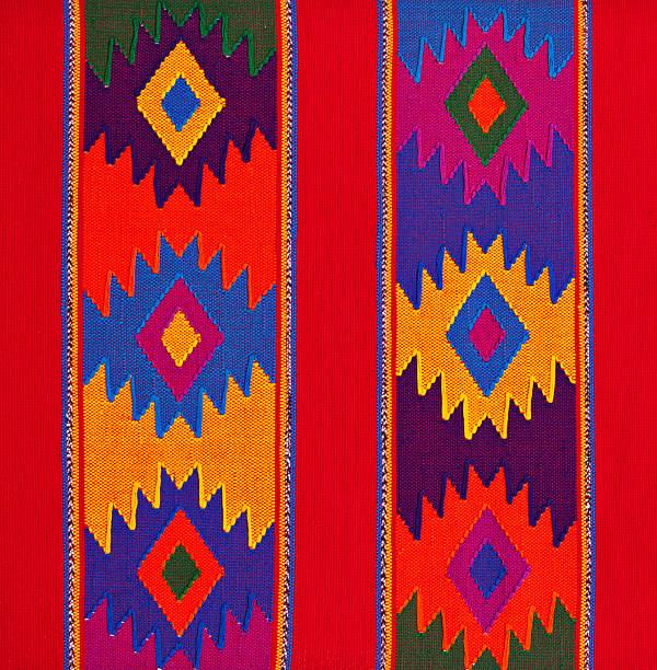 布地の背景にラテンアメリカとメキシコのカラーパターン:スマホ壁紙(壁紙.com)