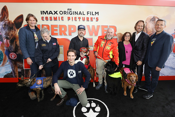 "Rich Fury「Imax's ""Superpower Dogs"" World Premiere Presented By Mars Petcare」:写真・画像(5)[壁紙.com]"