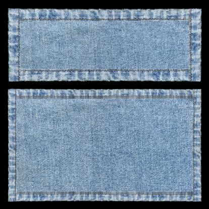 Fiber「Denim frames background textured isolated」:スマホ壁紙(6)