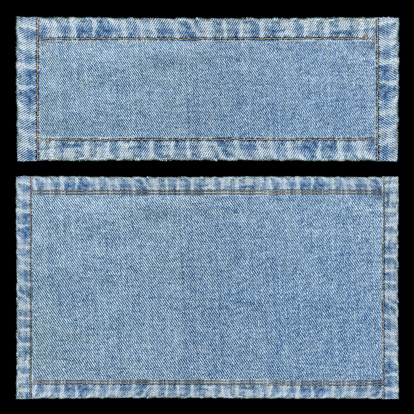 Teenager「Denim frames background textured isolated」:スマホ壁紙(12)