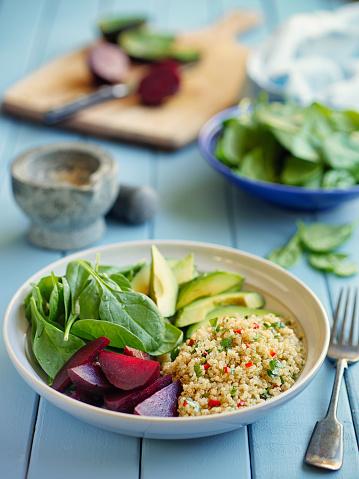 Quinoa「Healthy quinoa salad bowl」:スマホ壁紙(3)