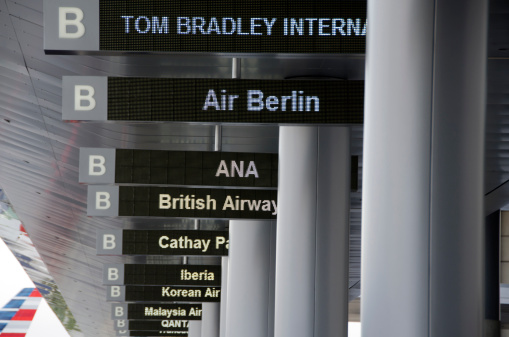 LAX Airport「LAX airline signs」:スマホ壁紙(12)