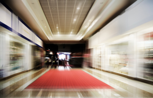 Shoe Store「Shopping Centre-Motion Blurred-More in Lightboxes Below」:スマホ壁紙(12)