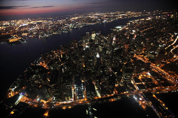 風景「Above The City: Aerial Views Of New York」:写真・画像(1)[壁紙.com]