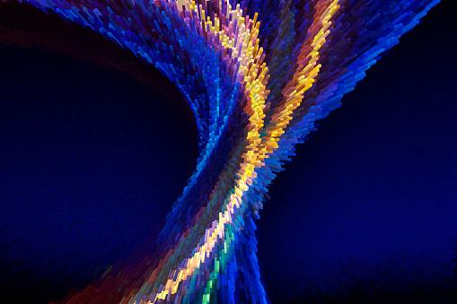 Art「Big Data Flow」:スマホ壁紙(15)