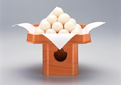 月見だんご「Dumplings Offered to the Moon」:スマホ壁紙(2)