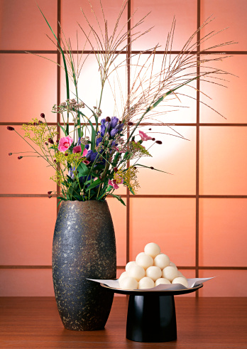 Japanese pampas grass「Dumplings Offered to the Moon and Flower」:スマホ壁紙(17)