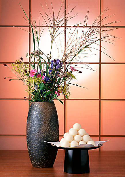 Dumplings Offered to the Moon and Flower:スマホ壁紙(壁紙.com)