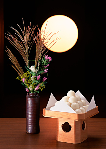 Tsukimi「Dumplings Offered to the Moon and Flower」:スマホ壁紙(7)