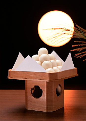 Tsukimi「Dumplings Offered to the Moon and Full Moon」:スマホ壁紙(14)