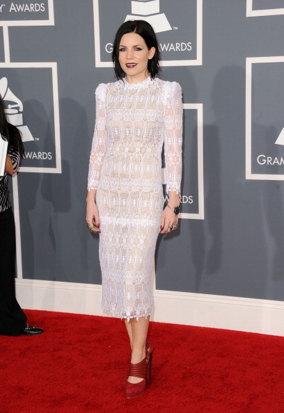 Lace Dress「The 54th Annual GRAMMY Awards - Arrivals」:写真・画像(11)[壁紙.com]