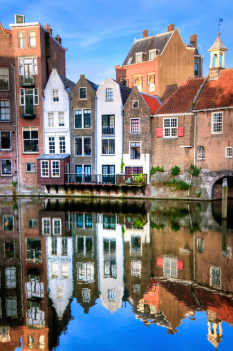Canal House「Rotterdam's Delfshaven with his Historic Buildings」:スマホ壁紙(2)