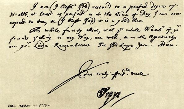 1900「Handwriting of Samuel Pepys」:写真・画像(8)[壁紙.com]