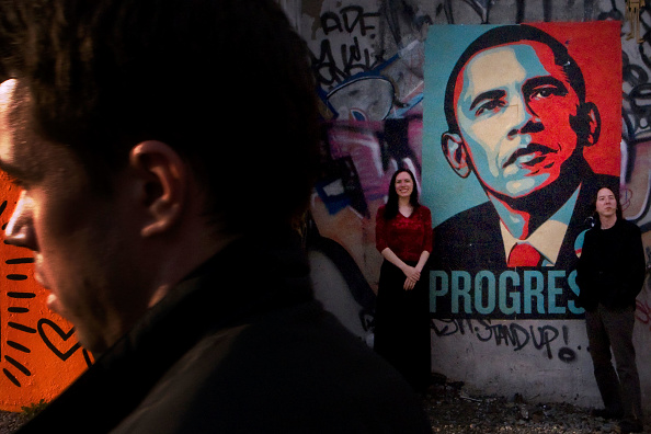 Street Art「Obama Street Art Surfaces In NYC Ahead Of The Election」:写真・画像(5)[壁紙.com]