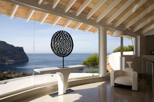 Villa「Sea view from a luxury Mediterranean villa」:スマホ壁紙(17)
