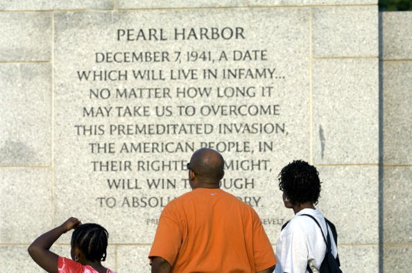 Franklin Roosevelt「Visitors Reflect At DC War Memorials」:写真・画像(3)[壁紙.com]