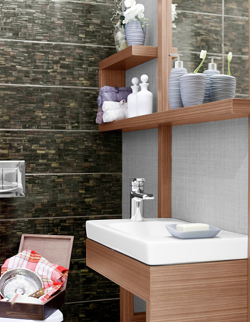 スイセン「国内新しいスタイルのバスルームでのご宿泊」:スマホ壁紙(8)