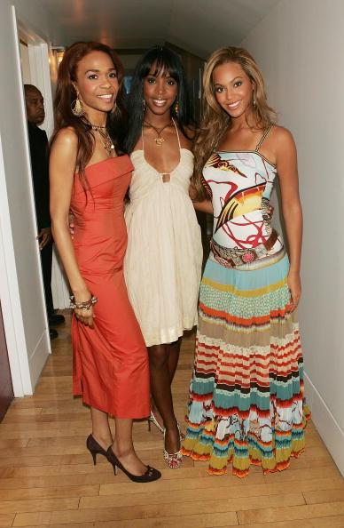 Kelly public「MTV TRL With Lindsay Lohan, Justin Long And Destiny's Child」:写真・画像(5)[壁紙.com]