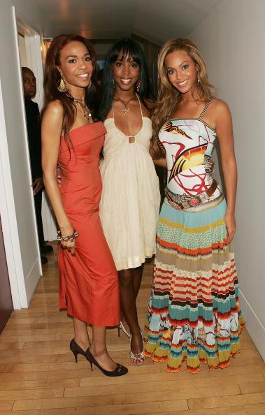 Kelly public「MTV TRL With Lindsay Lohan, Justin Long And Destiny's Child」:写真・画像(6)[壁紙.com]