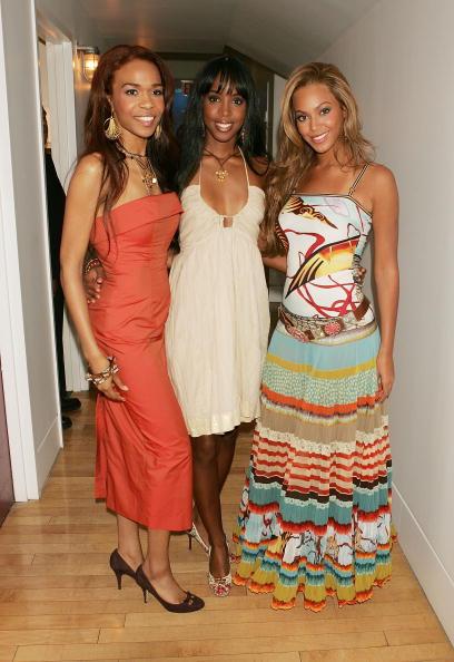Kelly public「MTV TRL With Lindsay Lohan, Justin Long And Destiny's Child」:写真・画像(3)[壁紙.com]