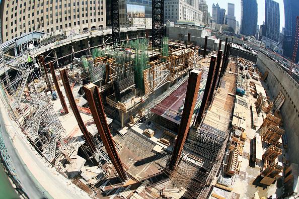 Concrete「Tower One site looking east, Lower Manhattan, New York City, USA」:写真・画像(9)[壁紙.com]