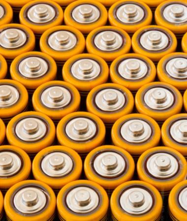 Power Supply「Rows of AA batteries」:スマホ壁紙(13)