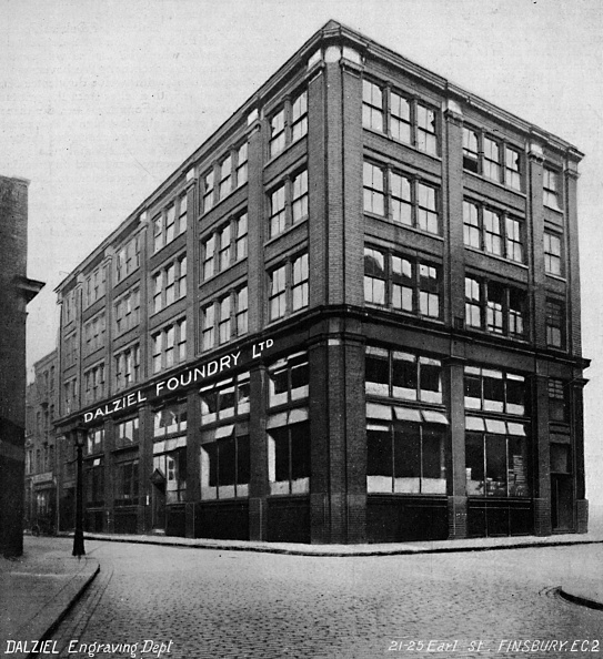 Corner「The Dalziel Foundry, 1919」:写真・画像(14)[壁紙.com]