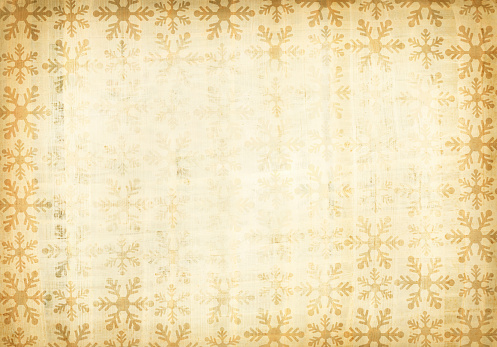 Wrapped「A grunge paper with patterns of snow flakes」:スマホ壁紙(7)